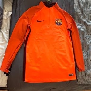 Men's Nike Dry FC Barcelona Strike Drill Top